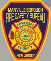 Fire Safety Bureau Patch for Manville