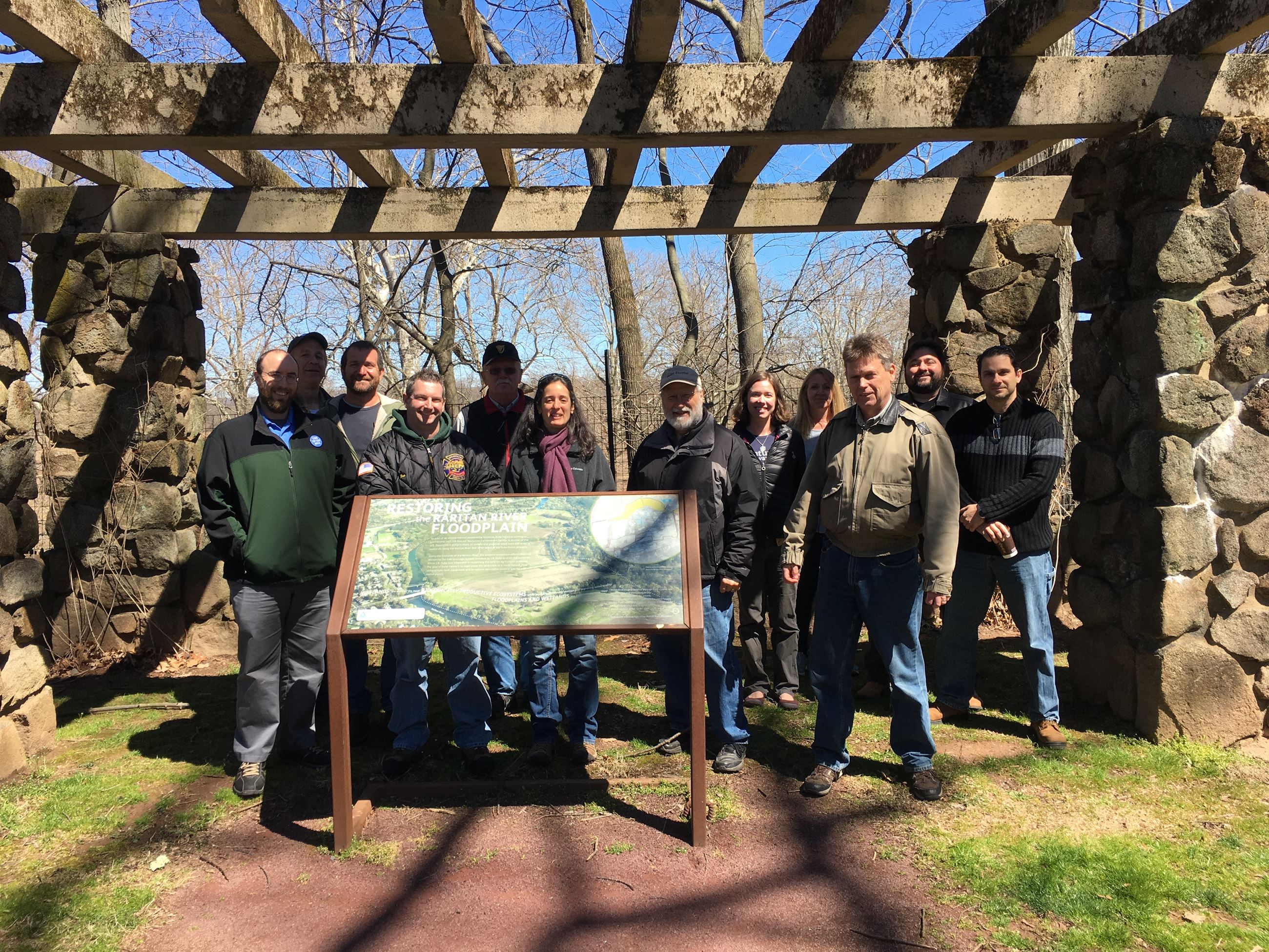 Manville Green team kickoff meeting Duke Farms tour 4.8.17