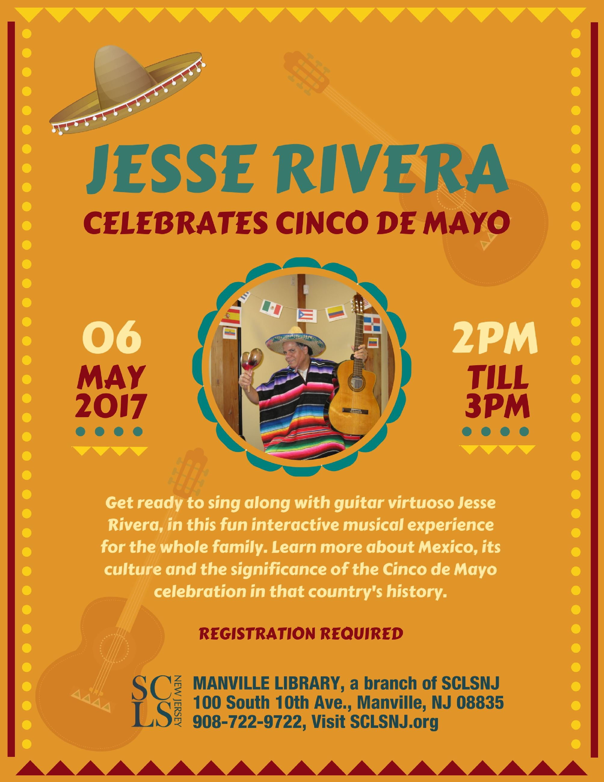 Jesse Rivera Celebrates Cinco de Mayo