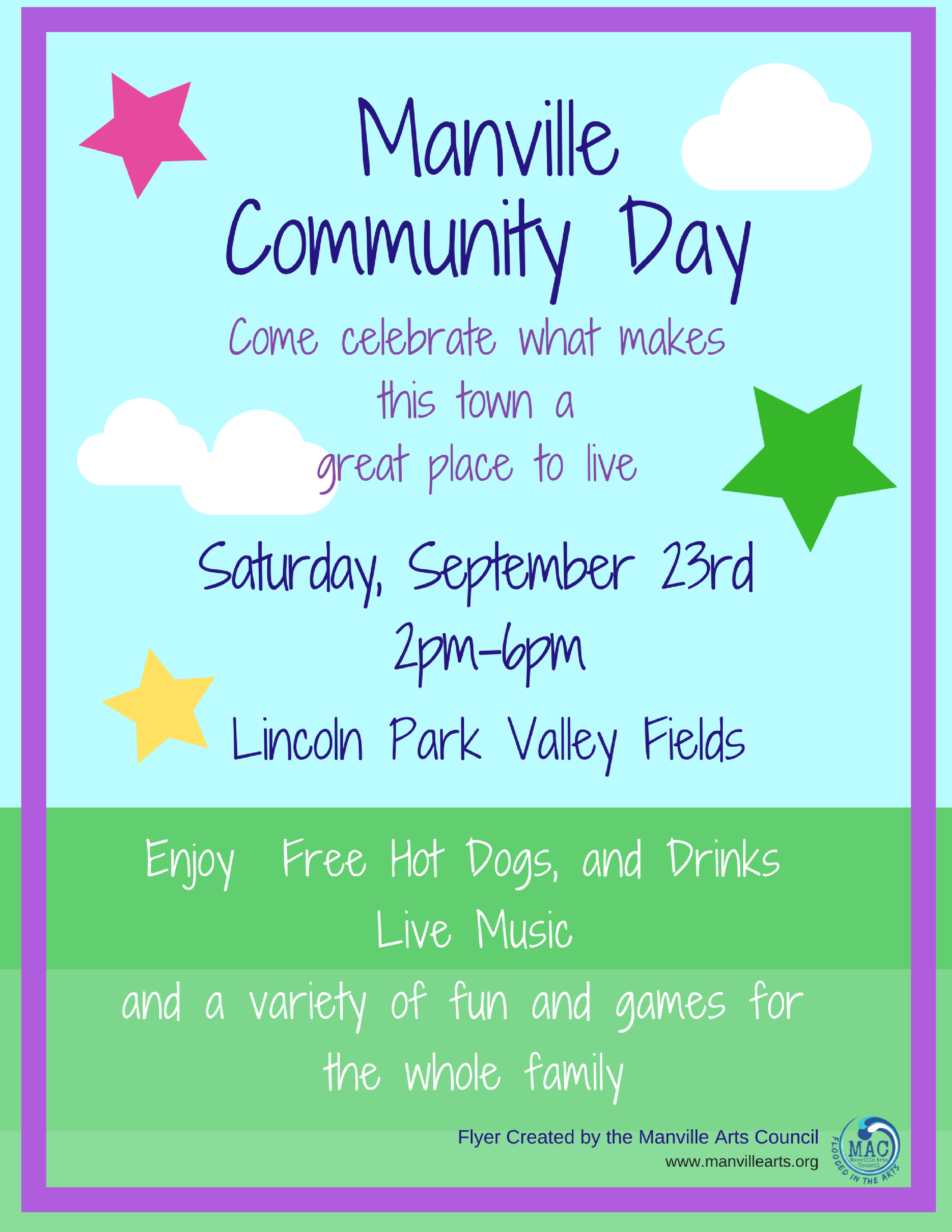 Updated Manville Community Day