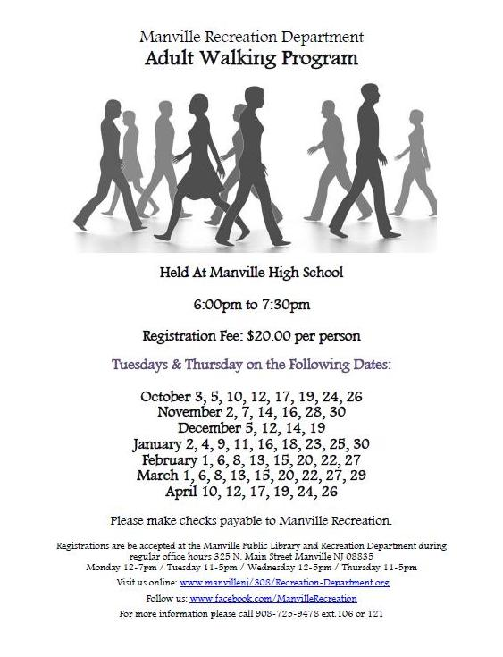 2017 Adult Walking Program