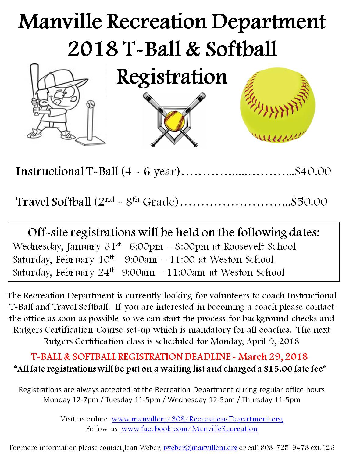 2018 Spring Ball Registration Rev1