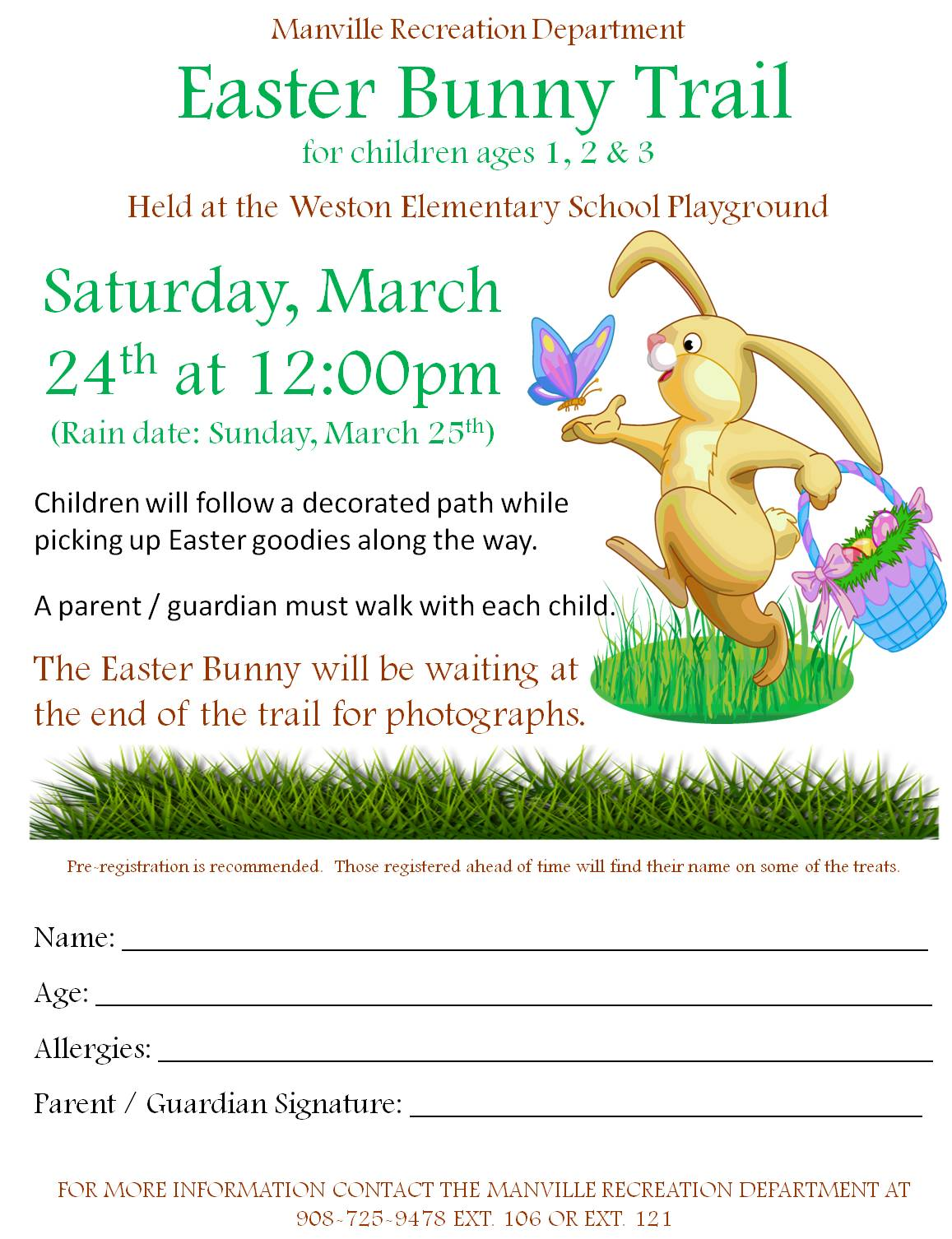 2018 Easter Bunny Trail