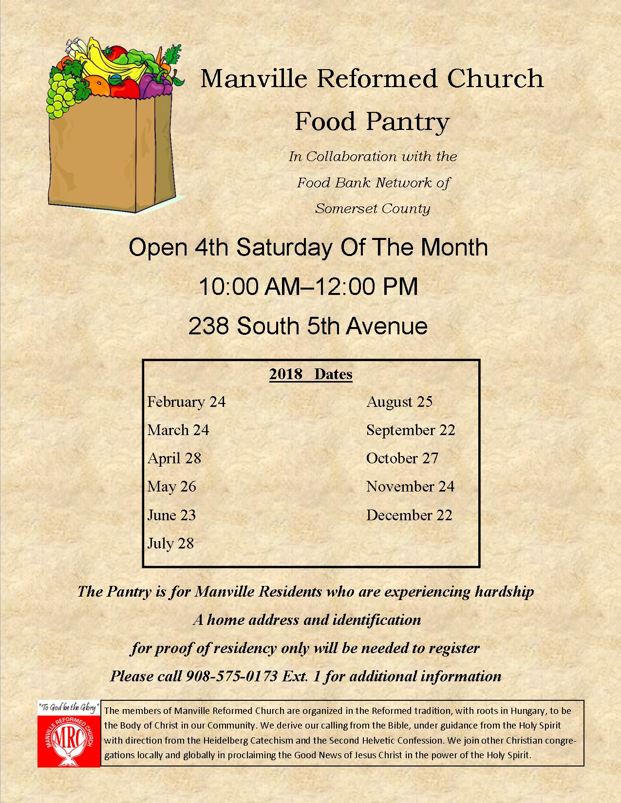 MRC food pantry dates colored  background