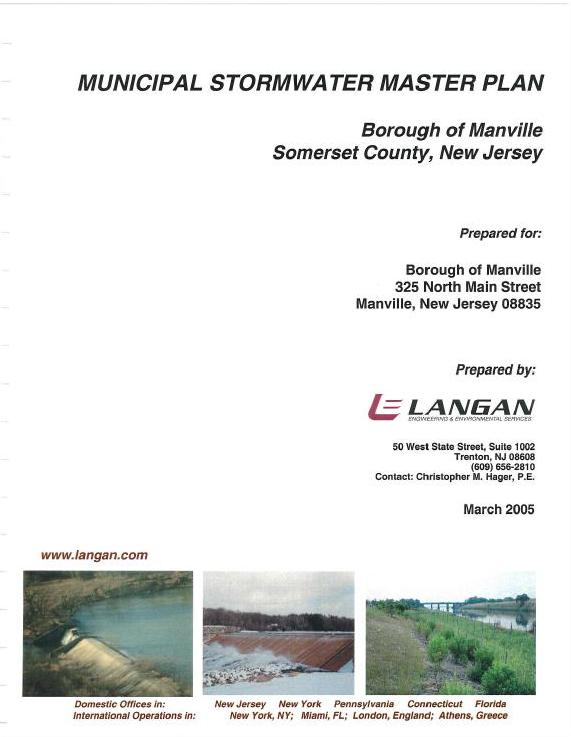 Municipal Stormwater Master Plan Part 1