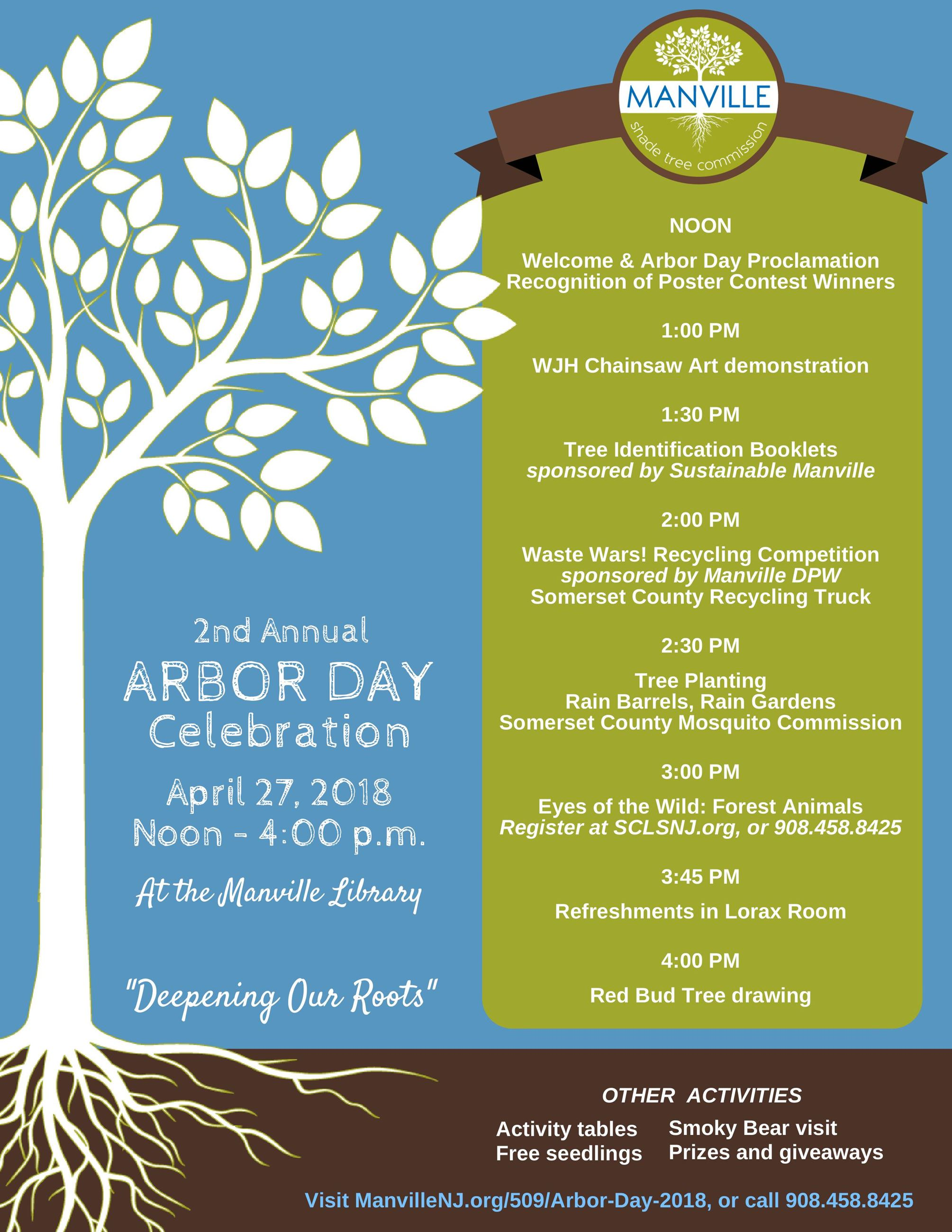 2018 Arbor Day events