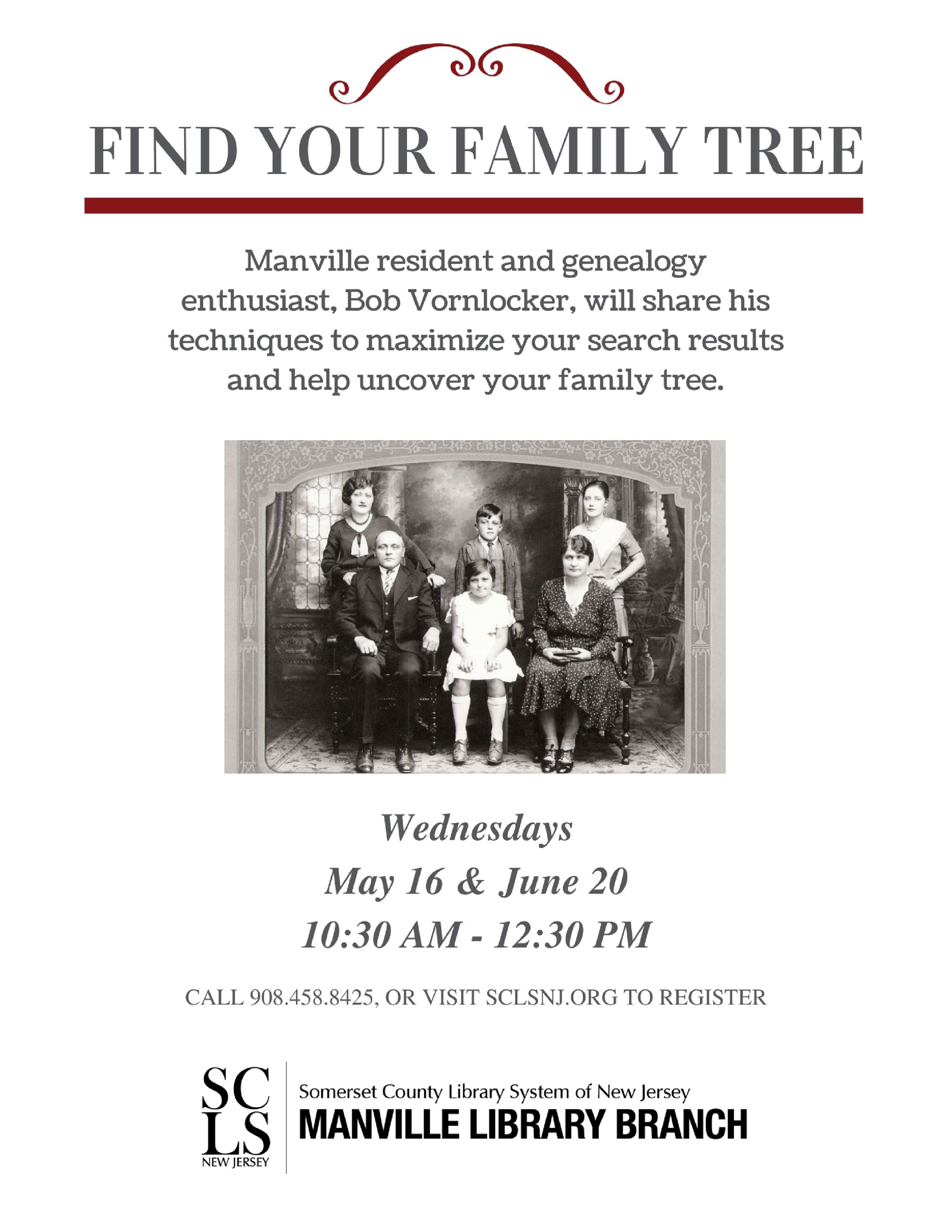 Find Your Family Tree May June 2018