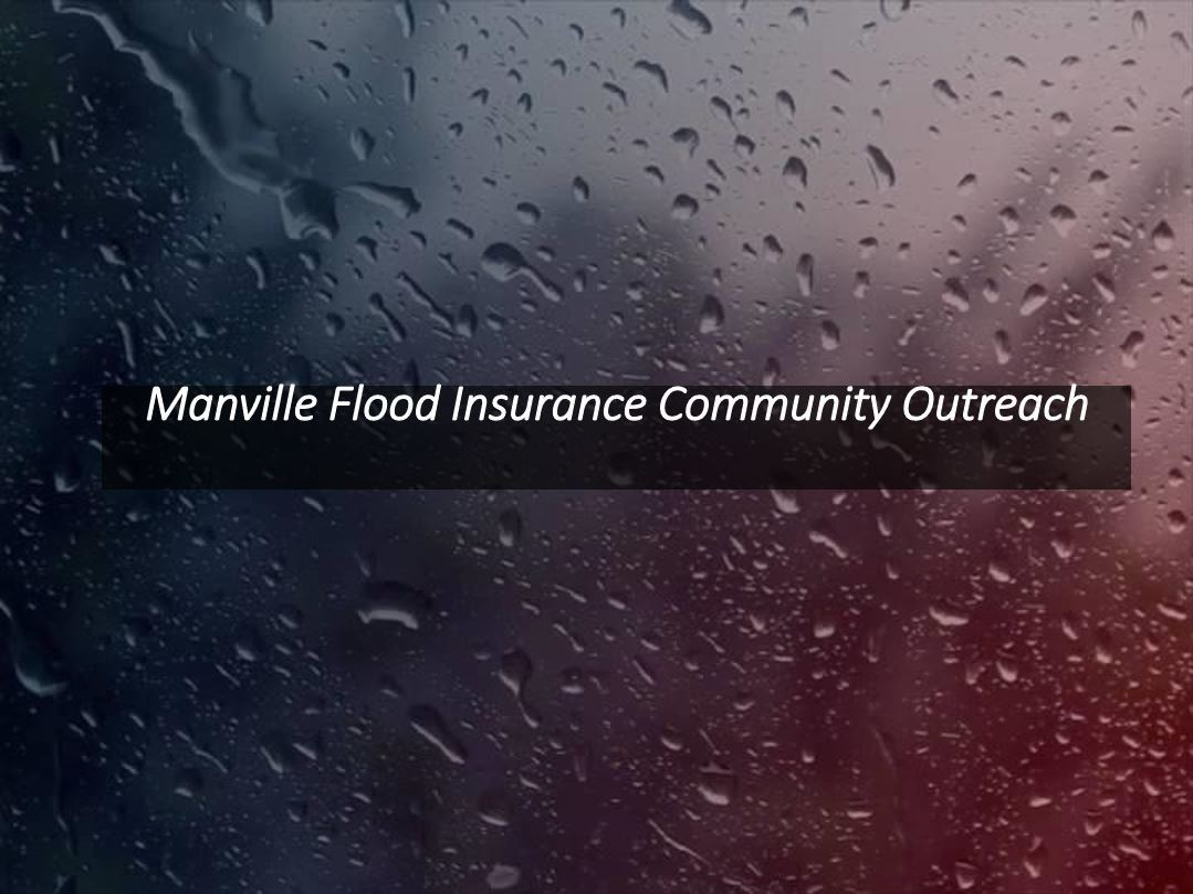 Manville Flood Insurance Community Outreach
