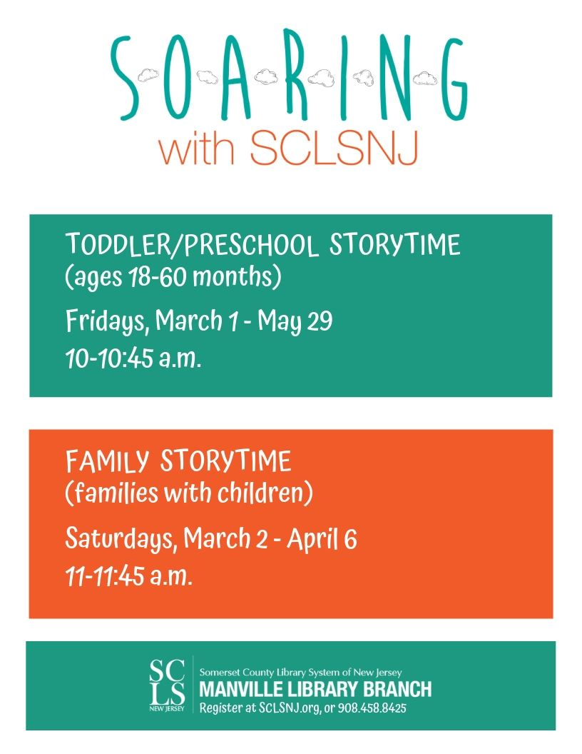 Storytime March-May 2019