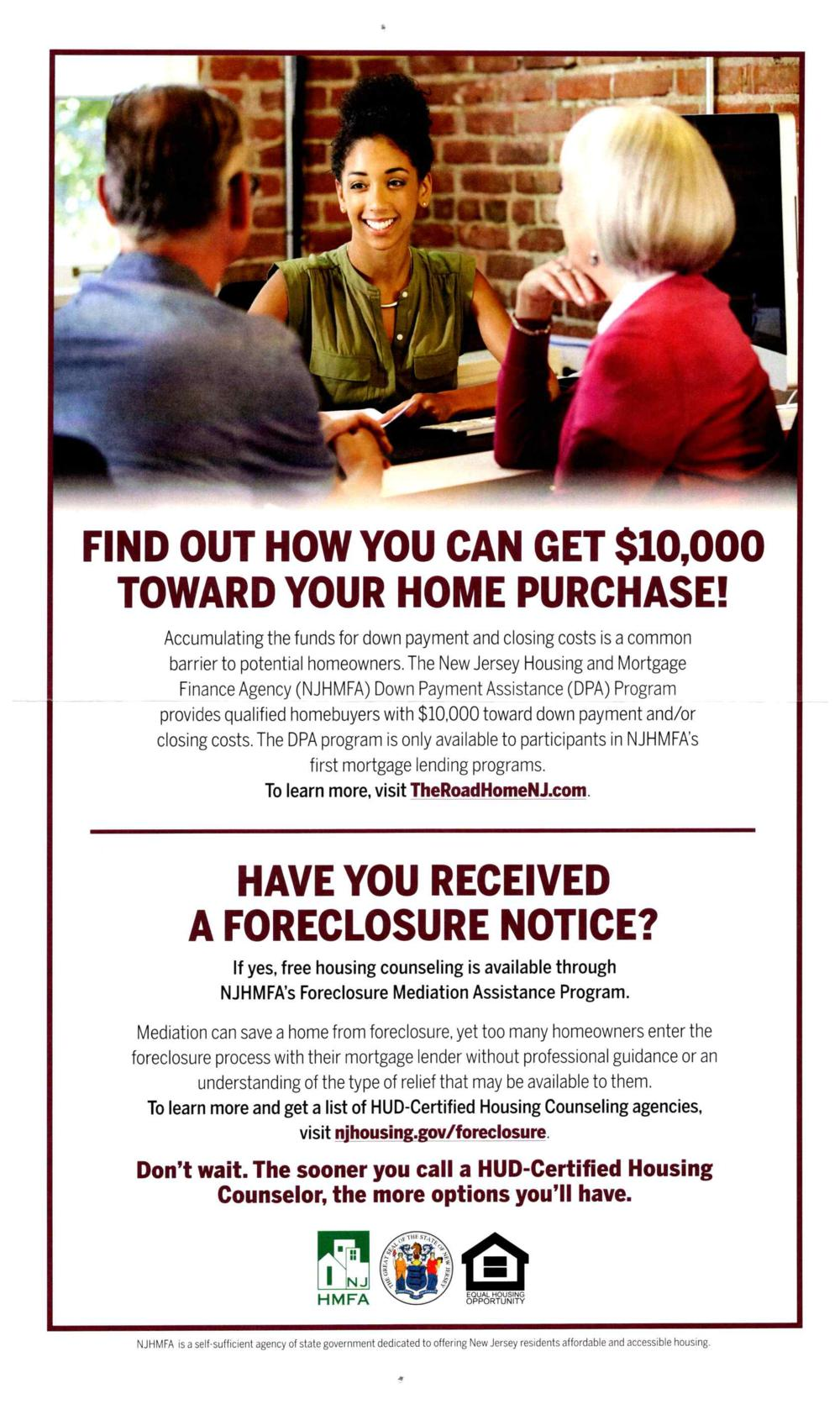 Home Assistance Flyer