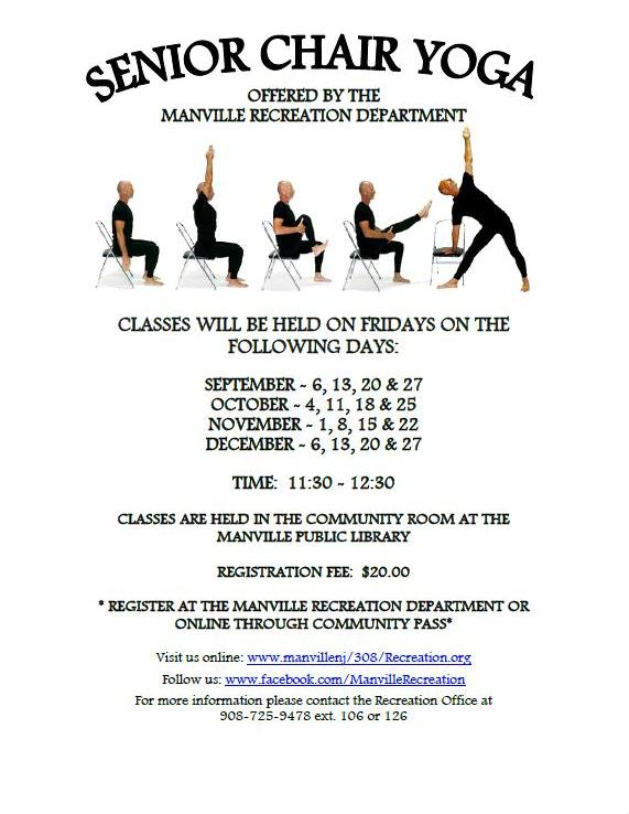 SENIOR CHAIR YOGA FALL 2019