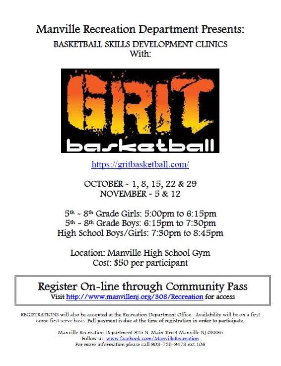 Basketball - Grit Fall Clinic