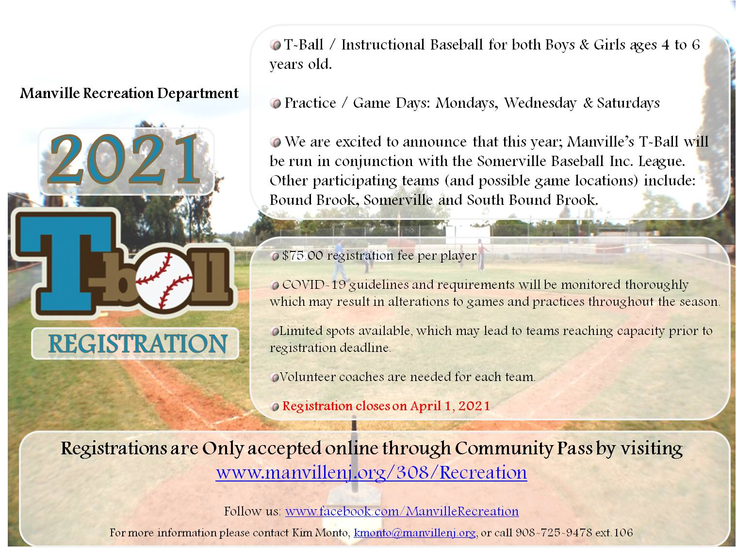2021 Spring T-Ball