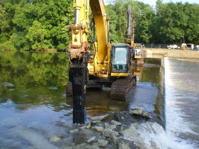 Weston Mill Dam Removal